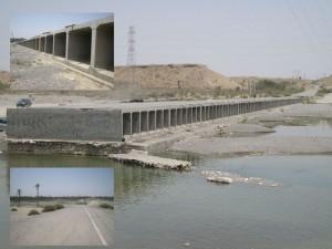 """توسعه """"رودخانه"""" نیازمند راه استاندارد/ گرد فراموشی بر چهره رودخانه"""