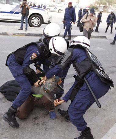 عکس زن مظلوم بحرینی