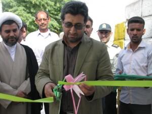افتتاح نمایشگاه کتاب سیار در بخش بیکاه
