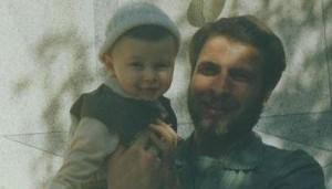 محمد باقر قالیباف و فرزندش /1359