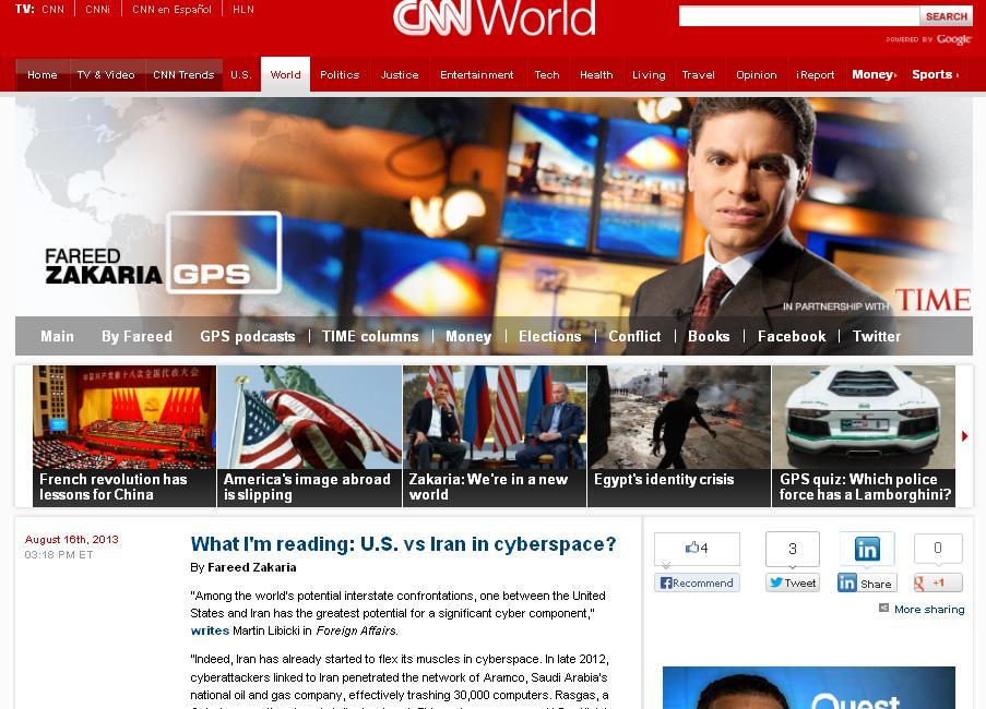 رودان نیوز  : تعجب سی ان ان از قدرت سایبری و هکر های ایرانی
