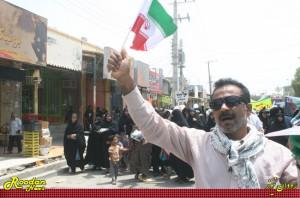 گزارش تصویری (1) / راهپیمایی روز جهانی قدس در رودان