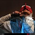 """گزارش تصویری/نمایش """"بی بری"""" در بیست و پنجمین جشنواره تئاتر هرمزگان"""