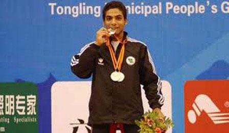 مجید عسکری: براي كسب مدال در مسابقه هاي جهاني اميدوارم