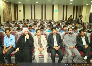 گزارش تصویری1/دیدار اعضای فعال اتحادیه انجمن اسلامی دانشآموزی هرمزگان با نماینده مقام معظم رهبری