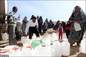 کمبود آب آشامیدنی در روستایی با منابع آبی فراوان/رنج چند ساله مردم برنطین از کم آبی