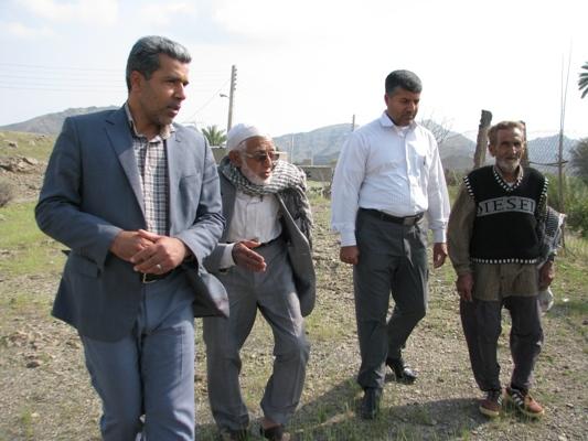 فرماندار رودان با اهالی روستای محروم بادافشان دیدار کرد.