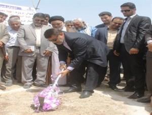 کلنگ احداث خط انتقال گاز به شهر رودان به زمین زده شد
