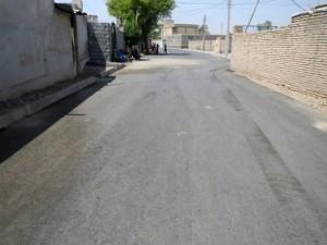 آسفالت محله سنگ آباد رودان مورد بهره برداری قرار گرفت