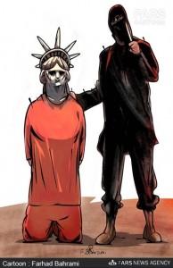 تهدید آمریکا توسط داعش