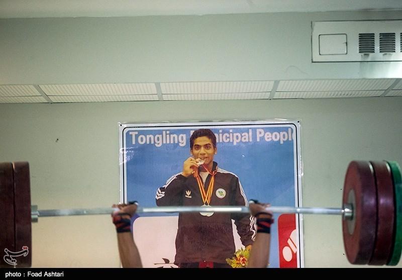 عکس/ پولاد مرد رودانی در آخرین تمرین تیم ملی وزنه برداری اعزامی به مسابقات اینچئون