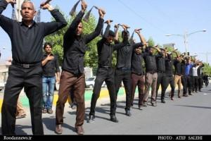 گزارش تصویری / سوگواری مردم رودان در عاشورای حسینی