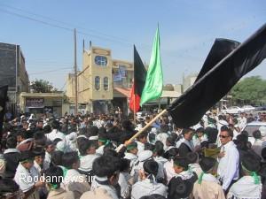 تصاویر / همایش بزرگ رهروان شهید فهمیده در رودان برگزار شد