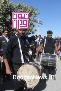 گزارش تصویری۲/ آیین عزاداری اربعین حسینی در جوار بارگاه امامزاده سیدسلطان محمد(ع) رودان