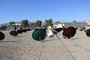 تحویل داوطلبانه ۱۲۰ گیرنده ماهواره در روستای دهگلکن رودان