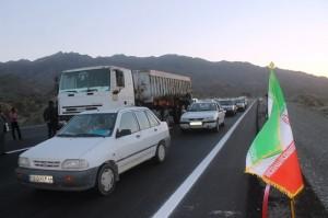 گزارش تصویری / بهره برداری از قطعه دوم بزرگراه میناب – رودان با حضور وزیر راه و شهرسازی