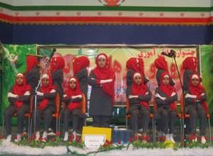 رقابت ۴۲گروه در جشنواره سرود مدارس ابتدایی رودان