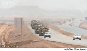 اعزام نیروهای ضربت رژیم سعودی به مرز یمن (تصاویر)