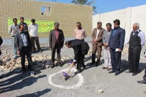کلنگ زنی ۳ پروژه عمرانی در بخش بیکاه شهرستان رودان