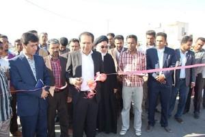 افتتاح و کلنگ زنی ۶ پروژه عمرانی در بخش جغین شهرستان رودان