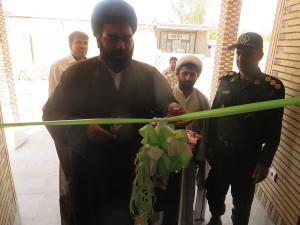 ساختمان حوزه مقاومت بسیج امام جعفرصادق(ع) و دانش آموزی شهیدفهمیده رودان افتتاح شد
