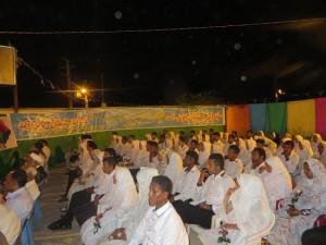 مراسم جشن ازدواج ۷۵ زوج رودانی در شب نیمه شعبان برگزار شد+تصاویر