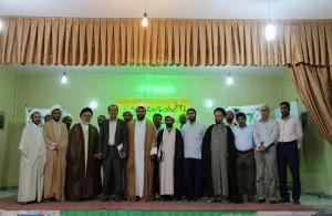 جمعی از روحانیون و مسئولین با فرماندار رودان دیدار کردند