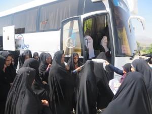 ۸۵ نفر زائر دلسوخته رودانی به مراسم سالگرد ارتحال حضرت امام خمینی(ره) اعزام شدند+تصاویر