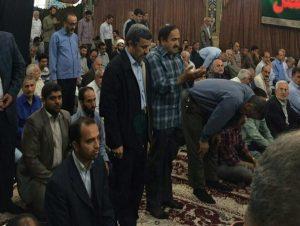 قدردانی مردم از احمدی نژاد برای تبعیت از توصیه رهبر معظم انقلاب+ تصویر