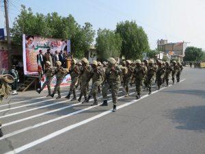 رژه با اقتدار ۳۱ شهریور در شهرستان رودان برگزار شد+تصاویر