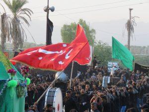 عزاداری روز تاسوعا در شهرستان رودان+تصاویر
