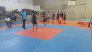 مسابقات ووشوی قهرمانی هرمزگان در رودان برگزار شد+تصویر