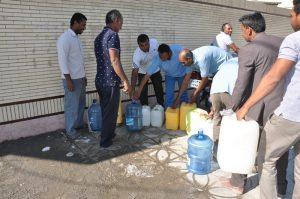 بیکاه،شهری که مردمش آب برای خوردن ندارند +تصویر
