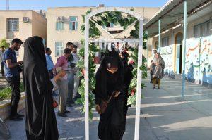 اعزام ۴۴ نفر از دانش آموزان رودانی به اردوی راهیان نور