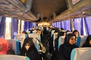 اعزام ۸۰ نفر از دانش آموزان رودانی به اردوی راهیان نور+تصویر