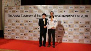 مخترع جوان رودانی موفق به کسب عنوان نائب قهرمانی مخترعان جهان شد+تصویر