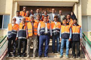 دیدار راهداران و کارکنان اداره راه و شهرسازی با فرماندار رودان