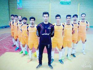 تیم فوتسال آزادگان رودان در جایگاه سوم ایستاد