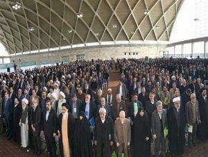 تجمع ۳ هزار نفری جبهه مردمی نیروهای انقلاب پایان یافت/ اسامی ۱۰ کاندیدای «جبهه مردمی» در دومین مجمع ملی اعلام میشود/حمایت احزاب و شخصیتهای سیاسی از جبهه مردمی+تصویر