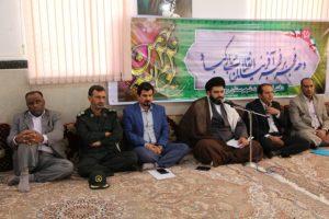 دیدار مدیران دستگاهای اجرایی با امام جمعه رودان +تصویر