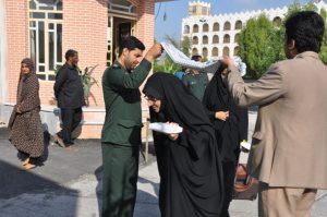 ۴۶ دانشجوی رودانی به اردوی راهیان نور اعزام شدند+تصویر