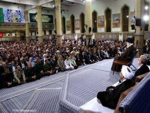 دیدار مسئولان نظام و سفرای کشورهای اسلامی با رهبر معظم انقلاب/تصاویر