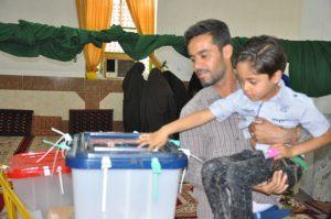 فعالیت ۱۲۶شعبه اخذ رای در رودان /شهروندان مراجعه به شعب را به ساعات پایانی موکول نکنند