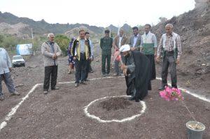 کلنگ پروژه آب رسانی توسط بسیج سازندگی رودان به روستای خاربجگان به زمین خورد