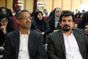 مراسم تودیع و معارفه مدیر آموزش و پرورش رودان برگزار شد+تصویر
