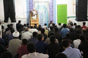 مراسم سوگواری شهادت امام جعفر صادق (ع) در رودان برگزار شد+تصویر