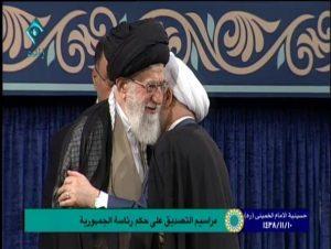 رهبر معظم انقلاب حکم ریاستجمهوری حجتالاسلام روحانی را تنفیذ کردند+متن و تصویر حکم