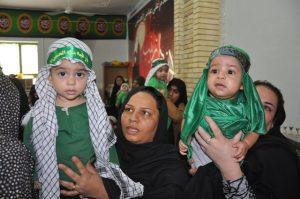همایش بزرگ شیرخوارگان حسینی در رودان برگزار شد+تصویر