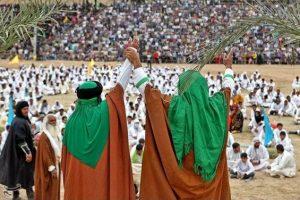سازماندهی بیش از ۳۰۰ نفر از هنرمندان رودانی برای بازسازی واقعه غدیر