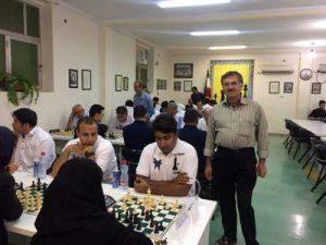 تیم شطرنج نخل رودان در جایگاه سوم ایستاد